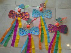 30 idéias para criar com crianças no carnaval - fasching basteln - Clown Crafts, Circus Crafts, Carnival Crafts, Carnival Decorations, Carnival Themes, Diy For Kids, Crafts For Kids, Children Crafts, Christmas Angel Decorations
