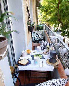 """772 Me gusta, 36 comentarios - Martina (@martina_evn) en Instagram: """"Buenos días!!!! Quedan inaugurados los desayunos en el balcón!!!! 😉 #FelizDomingo"""""""