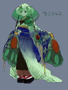 human version gijinka pokemon, reuniclus