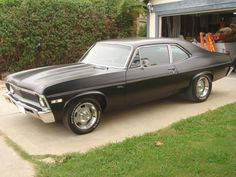 1969 Chevy Nova. 2nd choice of dream car.