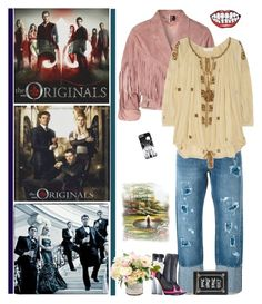 """""""The Originals"""" by fashionqueen76 ❤ liked on Polyvore featuring Topshop, M.i.h Jeans, Étoile Isabel Marant, Casadei and tvshow"""