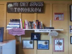 A fan shared this Little Free Library with us on our Facebook page at www.likemylibrary.com.  Visit this Little Free Library at Carter's Chocolates in Port Orchard.