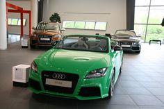 Lime Green... Audi TT RS Roadster.