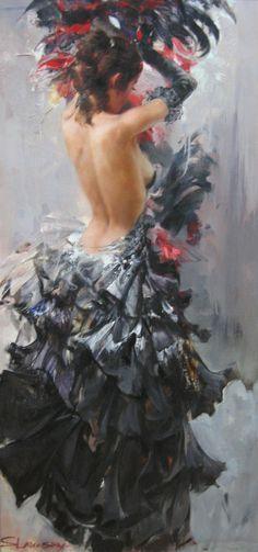 Spanish flamenco dancer Ivan Slavinsky