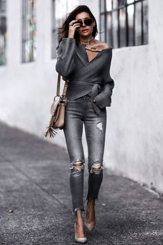 Sweater Weather: Wrapped and Off the Shoulder