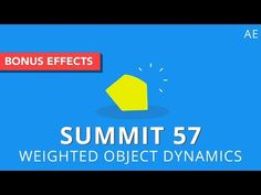Creating a Weighted Dynamics Effect in Ae Using Simple Effects - Lesterbanks