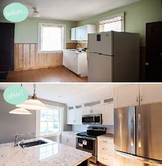 Home Improvement Projects, Home Projects, Interior Exterior, Interior Design, Exterior Remodel, Interior Modern, Interior Doors, Small Kitchen Renovations, Small House Renovation