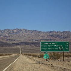 Death Valley National Park: How to Get to Death Valley National Park