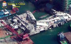 La Torre crollata, #Genova, le immagini dall'alto.
