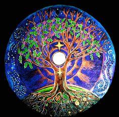 Winter Solstice Full Moon Mandala
