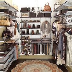 The shelving looks great but there should be some type of sliding ladder & va-voom lighting.