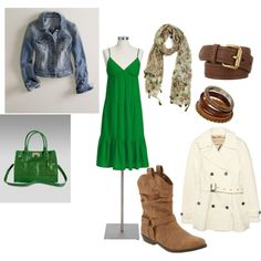 Summer to Fall look... I'm loving cowboy boots this year
