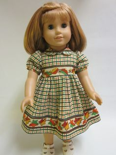 Thanksgiving Fall Outfit  18 inch American Girl by IndustriousDog, $11.00