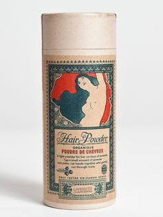 Lulu Organics Lavender/Clary Sage Hair Powder 4oz