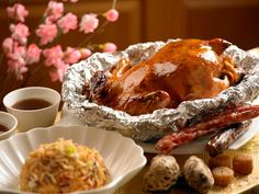 Simply Fabulicious: Binge - Impress-Your-Guests Chinese New Year Takeaways Chinese Roast Duck, Dried Scallops, Food Dishes, Dishes Recipes, Dried Shrimp, Formal Dinner, Glutinous Rice, Chinese Restaurant, Chinese New Year
