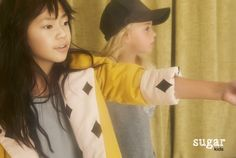 Sira & Rose from Sugar Kids for MilK Magazine by Carmen Ordóñez.