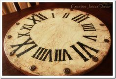 Guest Project -- Pottery Barn-inspired Clock for less than $10!