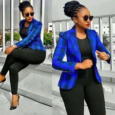 Nice blue plaid blazer sbusinessoutfit s Men's Business Outfits, Business Casual Attire, Classy Work Outfits, Chic Outfits, Fall Outfits, Summer Outfits, Fashion Outfits, Corporate Wear, Corporate Attire Women