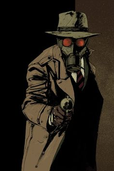 The Sandman, a vigilante whose main weapon is a gun that fires sleeping gas. In a similar vein to Batman, the Sandman possesses no superhuman powers and relies on his detective skills and inventions. Wesley Dodds (the Sandman) and his girlfriend Dian Belmont (daughter of the District Attorney) encountered several, often grotesque, foes