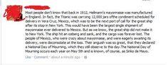Sinko de Mayo.