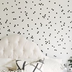 Irregular Dots Wall Pattern | Urban Walls