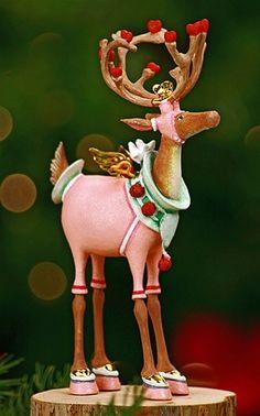 Krinkles by Patience Brewster - Dash Away Cupid Ornament