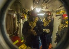 PACIFIC OCEAN (Sept. 27, 2013) Sailors conduct a general quarters drill aboard the amphibious transport dock ship USS New Orleans (LPD 18). New Orleans is deployed in the U.S. 7th Fleet area of responsibility conducting maritime security operations and theater security cooperation efforts as part of the Boxer Amphibious Ready Group. (U.S. Navy photo by Mass Communication Specialist 3rd Class Joe Bishop/Released)