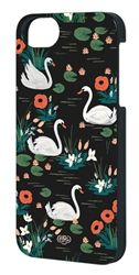 Swan iPhone case by Rifle Paper Co. The Inlay case has a rubber insert and a hard outer shell. This option provides protection without too much bulk. Swan Iphone Case by Rifle Paper Co.