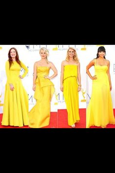 Yellow at the Emmys