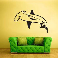 Wall Vinyl Sticker Decals Decor Art Bedroom Design catfish Fish  hammer (z2095)