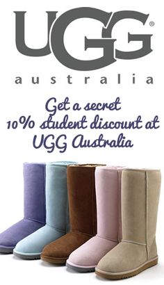 How to get a student discount on UGG Boots for college