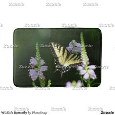 Wildlife Butterfly Bath Mat