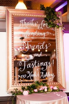 747e4e08cc1f 2016 Wedding Trends  Calligraphy on Everything