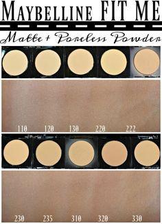 Maybelline® FIT ME!® Matte   Poreless Foundation