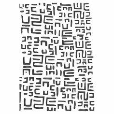 Mudcloth Layering Stencil Wallpaper Stencil, Holiday Crafts, Vinyl Decals, Layering, Stencils, Templates, Stenciling, Squad, Sketches