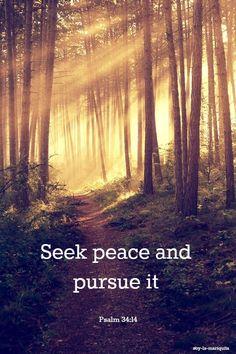 ✝Psalm 34:14 #Bible #Scripture