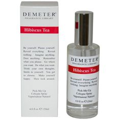 Launched by the design house of Demeter, the Hibiscus Tea 4-ounce Cologne Spray is classified as a unisex fragrance. It is recommended for casual wear. Design house: Demeter Scent name: Hibiscus Tea G