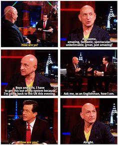 Ben Kingsley - The Colbert Report