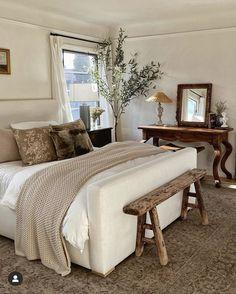 Home Bedroom, Modern Bedroom, Master Bedroom, Bedroom Decor, Bedrooms, Bedroom Wall, Bedroom Ideas, Wall Decor, Natural Bedroom