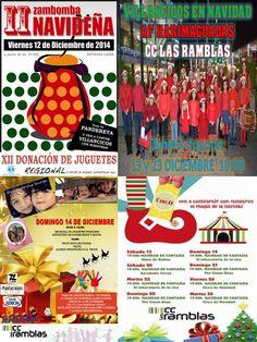 Fin de semana lleno de actividades: Viernes 12 a las 17:00 Taller Infantil, a las 19:30 Zambombas Navideñas, Sábado 13, a las 11:30 Taller Infantil a las 18:00 Actuación Agrupación Folclórica Infantil-juvenil Harimaguada a las 19:00 Navidad de Fantasía : Show de Rufino, Domingo 14 de 10:00 12:00 RECOGIDA DE JUGUETES, por los moteros de Gran Canaria y club amigos del mini, y a las 19:00 Navidad de fantasía: El laboratorio de la Risa. NO TE LO PUEDES PERDER..