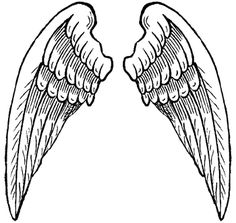 Clip Art Angel Wing Clipart free angel wing vector art for download about 23 celtic cross clip back to more pictures of wings