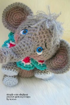 These crochet animals are too cute