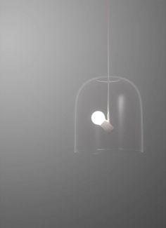 Bird Lamps - angled bulb sockets with lamp shape | lighting . Beleuchtung . luminaires | Design: Zhili Liu |