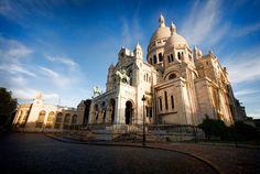 Basilique du Sacre Coeur, Paris, France