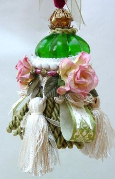 Decorative Tassel  Shabby Chic Home Decor  Cottage by atopdrawer, $25.00