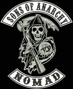 sons of anarchy vest cut patches | Nomad patch - Sons of Anarchy Picture
