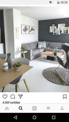 Fajny pomysł na półkę nad kanapą - Web Technology Home Living Room, Apartment Living, Interior Design Living Room, Living Room Designs, Living Room Decor, Bedroom Decor, Decor Room, Wall Decor, Room Decorations