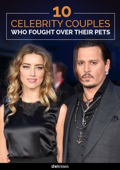 These celebrity couples are not giving in when it comes to their pets.