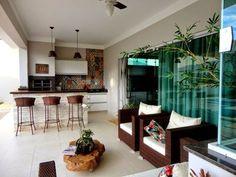 Áreas de Churrasco com Diferentes Tipos de Churrasqueira – Decoração de Casa