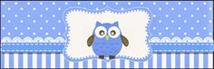 Blue Owl: Free Printable Candy Bar Labels.